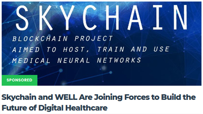 Skychain and WELL Are Joining Forces to Build the Future of Digital Healthcare